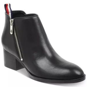 Tommy Hilfiger Ruthee Black Ankle Boots